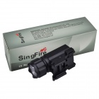 SingFire SF-802 Water Resistant 200lm 2-Mode Tactical Pistol Flashlight w/ XP-E R2 - Black (1 x CR2)