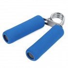 Portable Foam Stainless Steel Hand Grip Wrist Developer - Blue