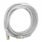 CAT-7 10G RJ45 Male to Male High Speed Network Cable - White (9.9m)