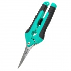 WLXY WL-9016Z Multifunctional Stainless Steel Scissors - Green + Black + Silver
