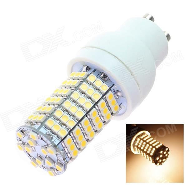 TZY L3 GU10 7W 480lm 3500K 138 x SMD 3528 LED Warm White Light Lamp Bulb - White (220~240V)
