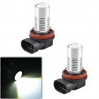 CHEERLINK H11-H1W H11 9W 800lm LED White Light Car Foglight - (12V / 2 PCS)