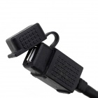 Jtron Waterproof Car USB Phone / Navigation Car Charger - Black