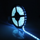 Impermeable 66W 4800lm 300-SMD 5050 LED Blue Ice Flexible coche Decoración luz tira (5m / 12V)