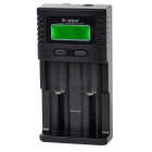 "Soshine SC-H2 1.5"" LCD Universal Charger for Li-ion / LiFePO4 26650 18650 Ni-MH C AA AAA - Black"