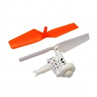 Walkera QR W100S-Z-01 Clockwise Motor w/ Propeller for QR W100S R/C Quadcopter - Silver + Yellow