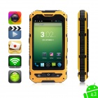 "MOXIV Ultra-Rugged Waterproof Android 4.2 WCDMA 3G Smart Phone w/4.0"" Touchscreen/4GB ROM/GPS/Wi-Fi"