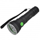 SingFire SF-326 1800lm 4-Mode LED Flashlight w/ 3 x Cree XM-L T6 - Black (1 x 26650)