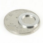 9.5mm Strong NdFeB Magnet Rings - Silver (5 PCS)