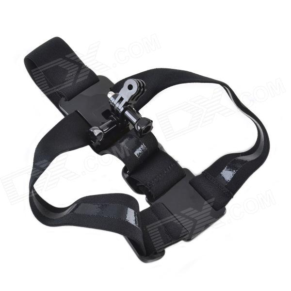 CMI Ergonomic Elastic 3 Degree of Freedom Head Mount Strap for Gopro Hero 4/ 3+ / 3 / 2 / 1 gopro accessories head belt strap mount adjustable elastic for gopro hero 4 3 2 1 sjcam xiaomi yi camera vp202 free shipping