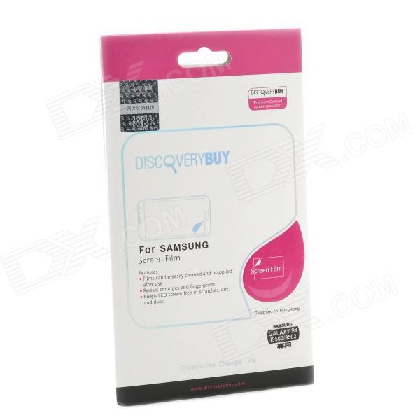 DiscoveryBuy Diamond Style Screen Protector for Samsung Galaxy S4 i9500 / 9502 - Transparent