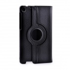 360' Rotation Protective PU Leather Case Cover Stand w/ Auto-Sleep for Asus Google Nexus 7 2 - Black