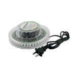 XL-17 8W 48-LED RGB Sound-Activated Sunflower Stage Light - Transparent + White (90~240V)