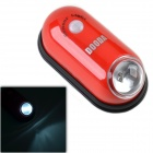 DOODA SN109S 0.6W 20lm 1-LED White PIR Light Motion Sensor light - Red + Black (4 x CR2032)