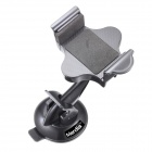 Merdia QPYP04T3 Car Cell Phone Cradle Holder Bracket for Iphone / Samsung + More - Black