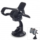 FLY S2235W-X Universal 360 Degree Rotation Car Holder Mount for MP4 / Mobile / GPS / PAD - Black