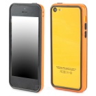 Protective ABS + Silicone Bumper Frame for Iphone 5C - Orange + Black