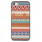 Tribal Ethnic Style Protective Plastic Back Case for Iphone 5 - Multicolor