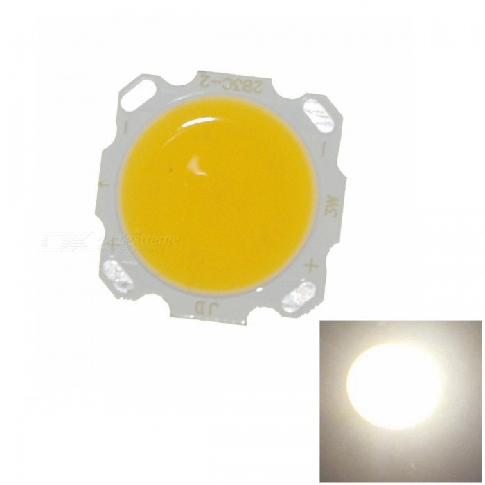 SENCART 3W 300lm 3000K Warm White COB LED Module - Yellow + White (9~11V)