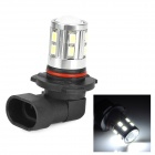 SENCART 9005 5W 280lm 9000K 16-5730 SMD LED Cool White Fog Lamp - Silver (Rated Voltage)