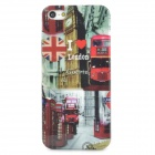 London Street View Pattern Protective Plastic Back Case for Iphone 5 - Multicolored