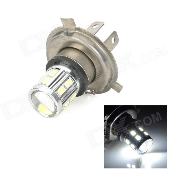 SENCART H4 5W 280lm 9000K 16-5730 SMD LED Cool White Fog Lamp - Silver (Rated Voltage)