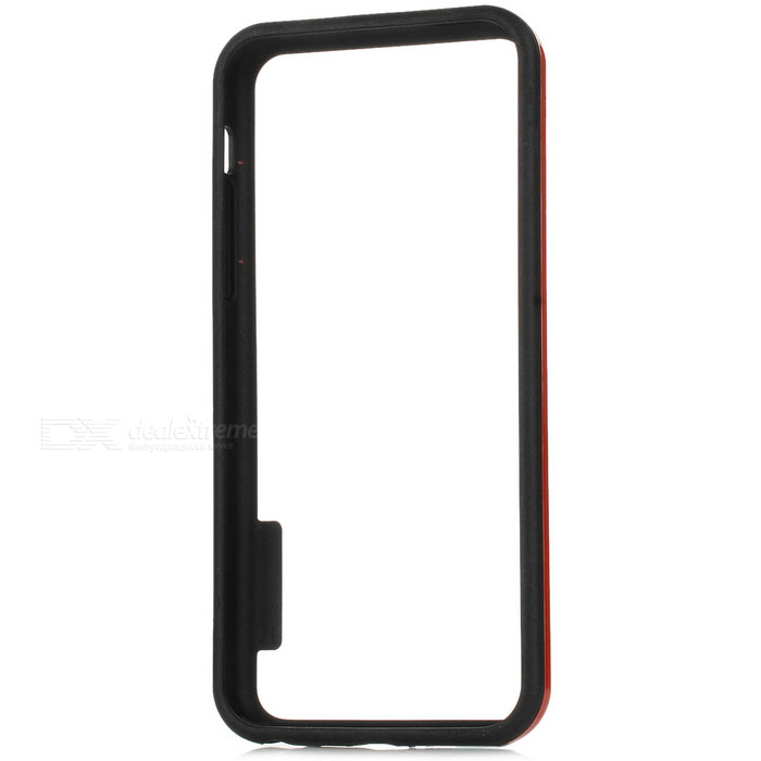 Protective Plastic Bumper Frame Case for Iphone 5C - Black + Red bluetooth гарнитура jabra motion uc ms 6630 900 301 серый 6630 900 301