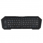 Seenda IBK-03 Universal Ultrathin Wireless Bluetooth V3.0 Folding 66-Key Keyboard - Black