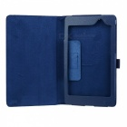 Stylish Flip-open Litchi Pattern PU Leather Case w/ Holder  for Google Nexus 7 II - Sapphire