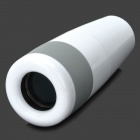 EYESKEY CM168 Mini 8X Clear Telescope for Iphone 4 / 4S - White + Grey