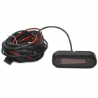 "U302 1.6"" LED Electromagnetic Vehicle Reversing / Parking Radar Sensor Kit w/ Beep"