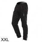 VEOBIKE Thickened Fleece Outdoor Cycling Trousers - Black (Size XXL)