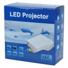 LETO E03 Mini Home Portable LED HDMI Pojector - White