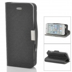 2750mAh Backup Battery Case w/ Holder for iPhone 5 - Black