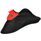 NUCKILY Outdoor Cycling Windproof Warm Fleece Face Mask - Red + Black