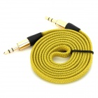MM-35 3.5mm Male to Male Audio Connection Nylon Cable (1m)