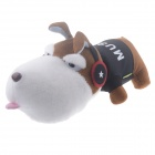 Cool Pirate AY-009 Dog Style Bamboo Charcoal Air Purifier Bag Toy - Milky White  + Black + Blue