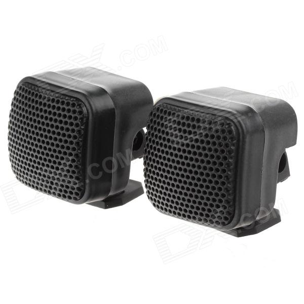 TiaoPing TP-004A  Mini Dome Tweeter Component Speakers for Car Audio System - Black (Pair)