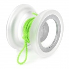 D6 Stilvolle Glow-in-the-dark Aluminum Alloy YOYO - Silber + Weiß