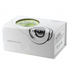 D6 Stylish Glow-in-the-dark Aluminum Alloy YOYO - Silver + Green