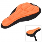 NUCKILY Cycling Thick 3D Sponge Bike Seat Cushion Cover - Orange