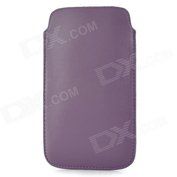 Protective PU Leather Case for Samsung Galaxy Note 3 N9000 - Purple