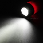 USB Power recarregável 1 LED-1-Mode 25lm Branco Flashlight - Deep Pink Preto +
