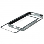 Zomgo arrachement de protection en alliage d'aluminium de butoir pour Iphone 5 - Gris