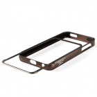 Zomgo Pull-out Protective Aluminum Alloy Bumper Frame for Iphone 5 - Brown