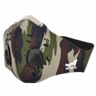 Acacia Outdoor Cycling Neoprene Face Mask - Camouflage (Size XL)