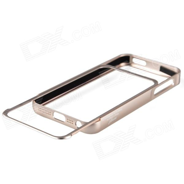 Zomgo Pull-out Protective Aluminum Alloy Bumper Frame for Iphone 5 - Champagne zomgo stylish protective aluminum alloy silicone bumper frame for iphone 5 5s black white