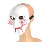Eccentric Scary PVC Cast Máscara para traje / Halloween Party - Branco