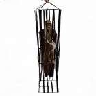 Halloween Voice Control Skeleton in Cage - (3 x 2A)