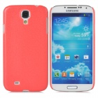 Protective Plastic Hard Back Case for Samsung Galaxy S4 i9500 - Red